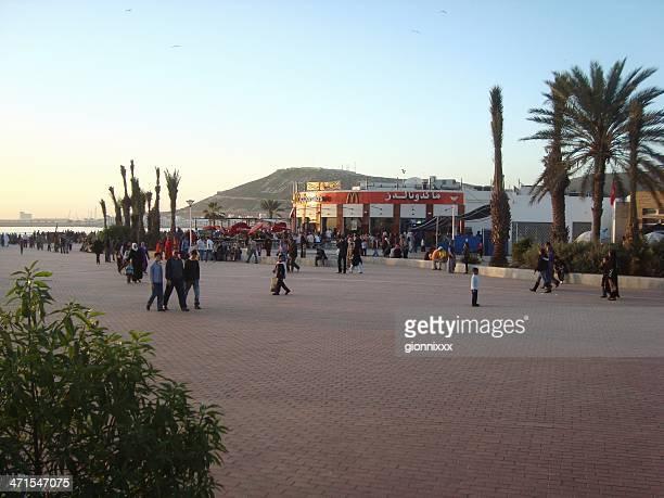 Square auf den Atlantik – Agadir, Marokko