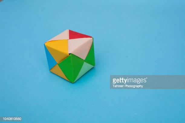 square shaped origami