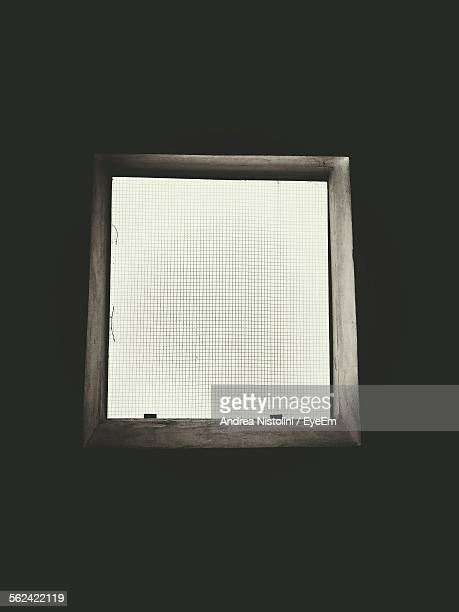 Square Window With Mosquito Netting