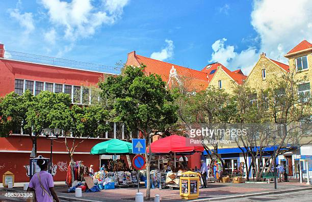 Square with market, Curacao