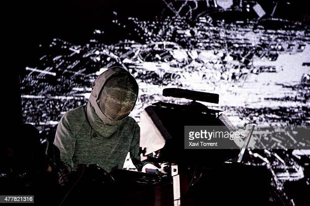 Squarepusher performs on stage during day 2 of Sonar Music Festival on June 19 2015 in Barcelona Spain