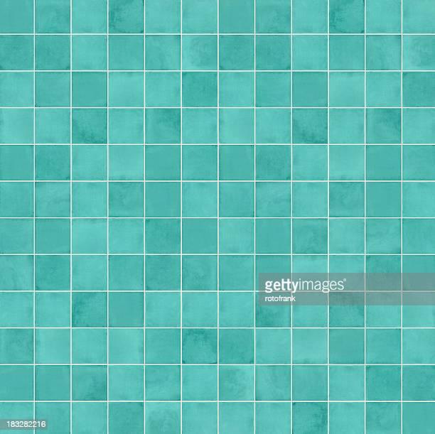 Squares in different shades of aqua blue