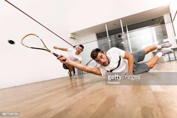 Squash players