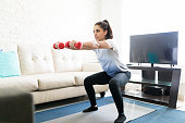 Squats routine at home
