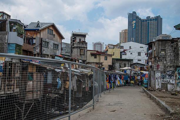 Squatter settlement, Manila, Philippines