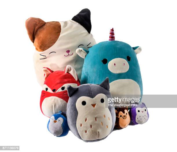 Squishmallows by Kelly Toy one of the items for the Post's annual gift guide on October 2017 in Washington DC