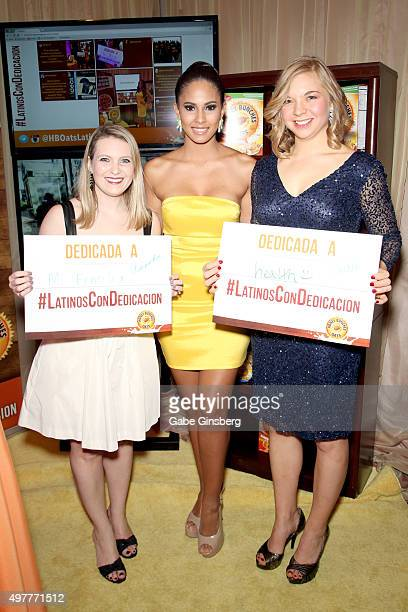 Sr Director Brand Management Post Foods Honey Bunches of Oats Amanda Liu Miss New York USA 2015 Tatiana Diaz and Sr Associate Brand Manager Post...