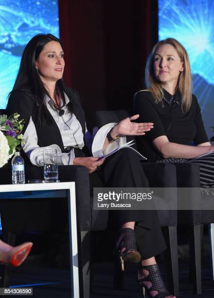 Sr Director of Distribution at Hemisphere Media Group Fernanda Merodio and SVP of Global Talent and HR Management for Discovery Communications Julie...