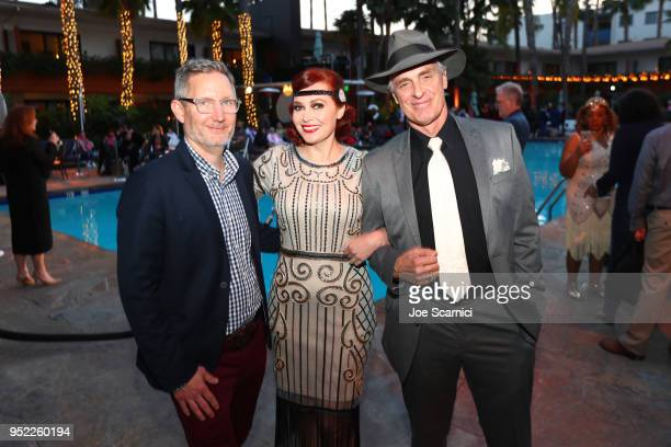 Sr Manager of Enterprises Strategic Partnerships of TMC Mark Wynns TCM Filmstruck host Alicia Malone and Actor Keith Carradine attends the screening...