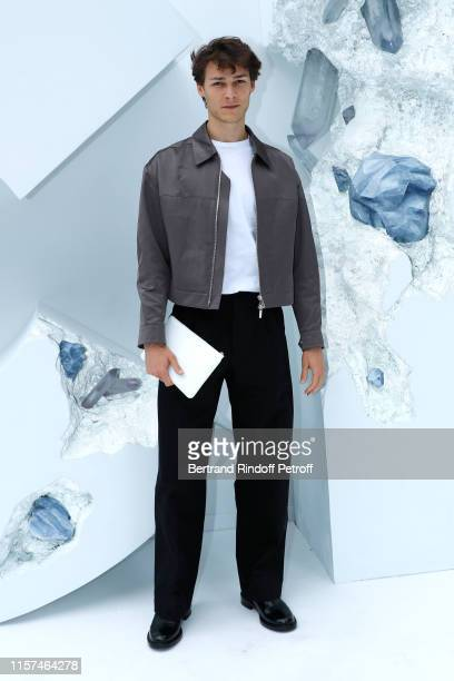Srar Dancer Hugo Marchand attends the Dior Homme Menswear Spring Summer 2020 show as part of Paris Fashion Week on June 21 2019 in Paris France