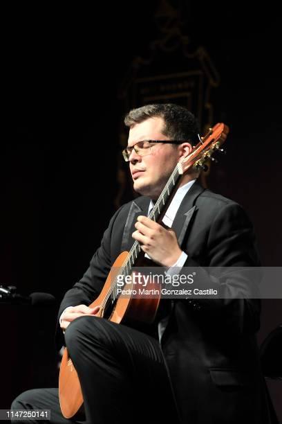 Srdjan Bulat performs as part of the 13th International Guitar Encounter at Casa de la Cultura de Salamanca on May 5, 2019 in Salamanca, Mexico.