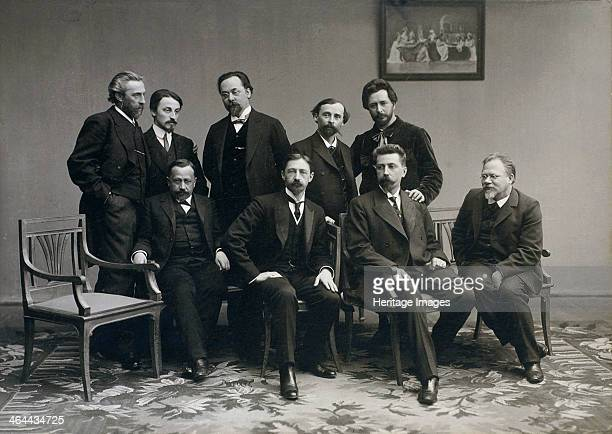 'Sreda' , Russian literary group, 1890s. Sreda was founded in 1899 by Nikolay Teleshov. It was named after the day on which they held their weekly...