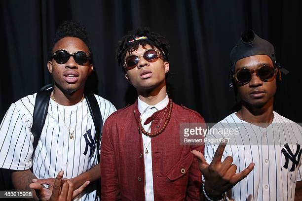 DJ Sremmurd Swae Lee and Slim Jimmy of Rae Sremmurd visits 106 Park at BET studio on August 13 2014 in New York City