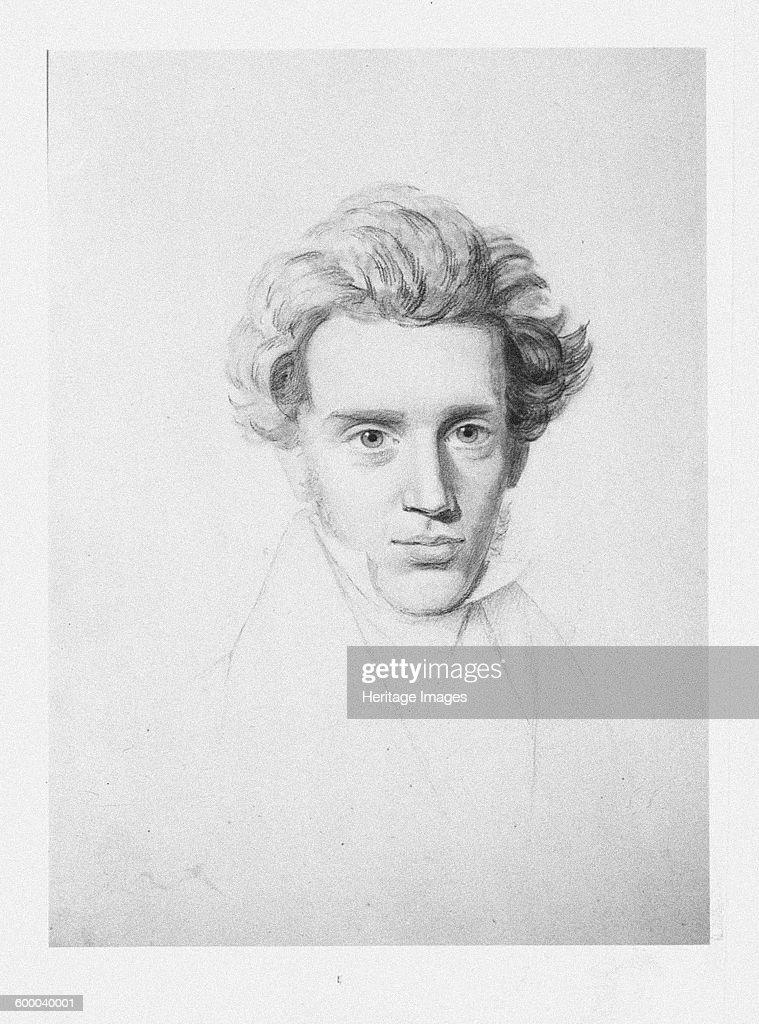 Søren Kierkegaard (1813-1855), c : News Photo