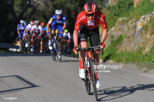 Sõren Kragh Andersen of Denmark and Team Sunweb / during the 45th Volta ao Algarve, Stage 5 a 173,5km stage from Faro to Alto Do Malhão 518m - Loulé...