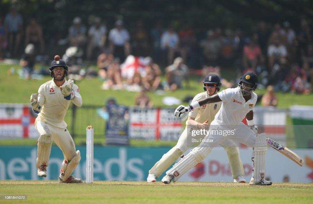 Sri Lanka v England: Second Test - Day Two : News Photo