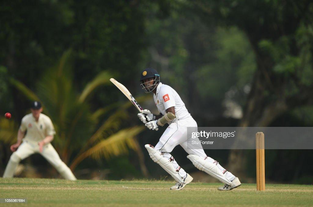 Sri Lanka Board Presidents XI v England: Tour Match Day One : News Photo