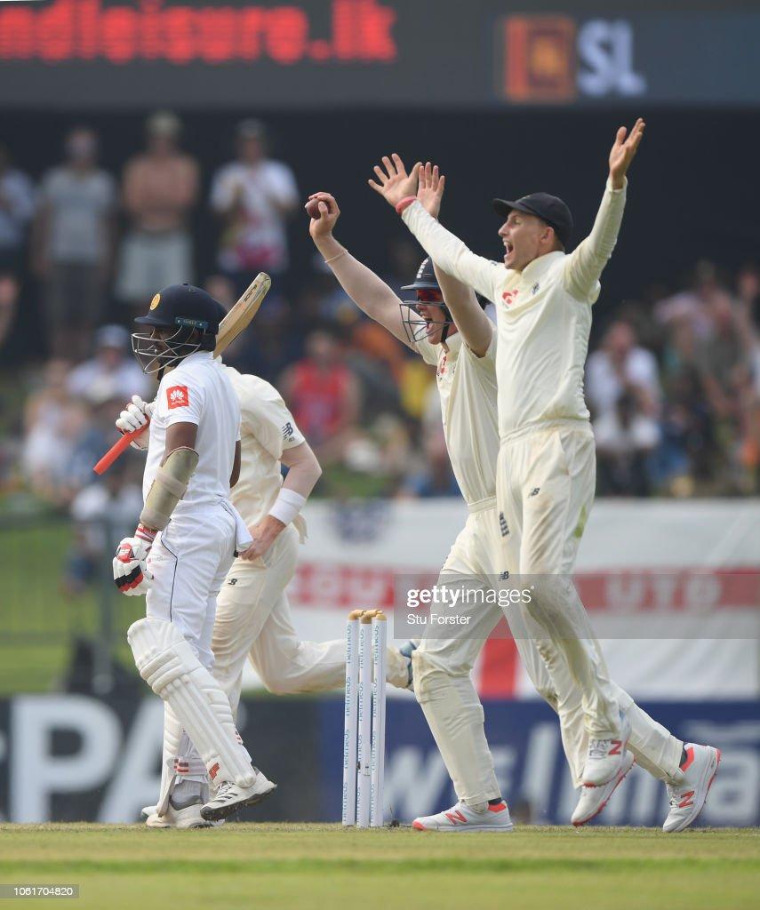 Sri Lanka v England: Second Test - Day Two : Foto jornalística