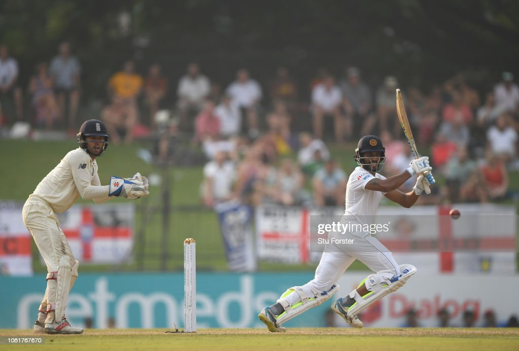 Sri Lanka v England: Second Test - Day Two : News Photo
