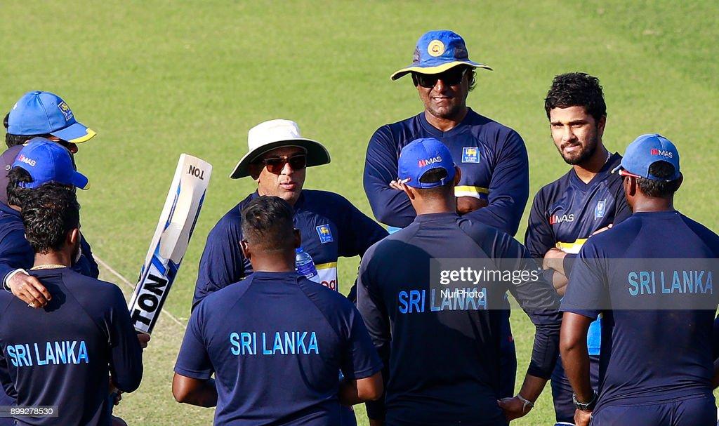 Sri Lanka cricket's new head coach Chandika Hathurusingha : News Photo