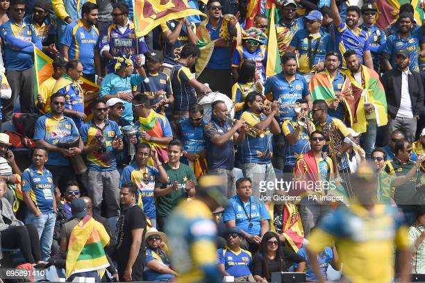 Sri Lanka fans in the stands