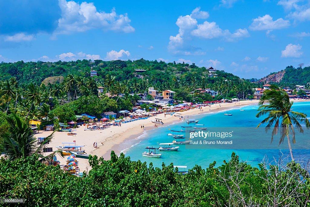 Sri Lanka, Galle, Unawatuna beach : Stock Photo