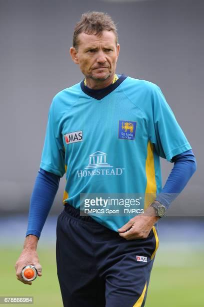 Sri Lanka head coach Graham Ford before the ICC Champions Trophy Warm Up match at Edgbaston Birmingham