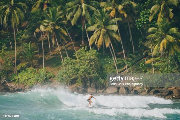 sri lanka paradise surfer - sri lanka stock pictures, royalty-free photos & images