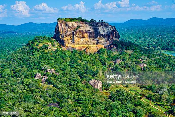 sri lanka, sigiriya lion rock fortress - sigiriya stock photos and pictures