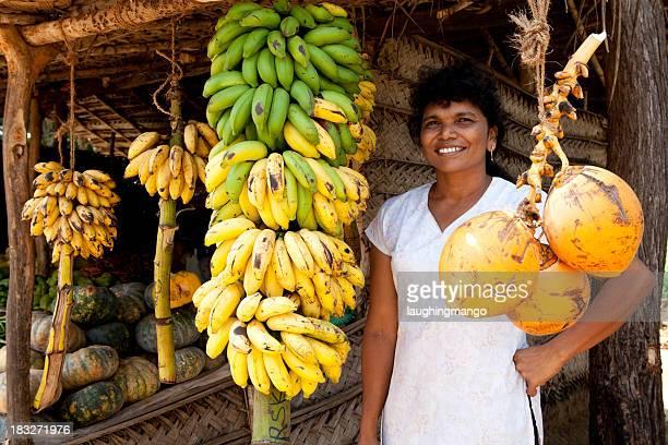 sri lanka tropischen Frucht stand