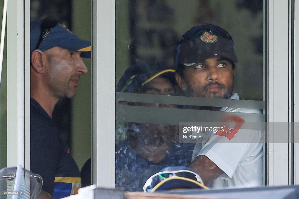 Sri Lanka v India - Cricket, Day 4