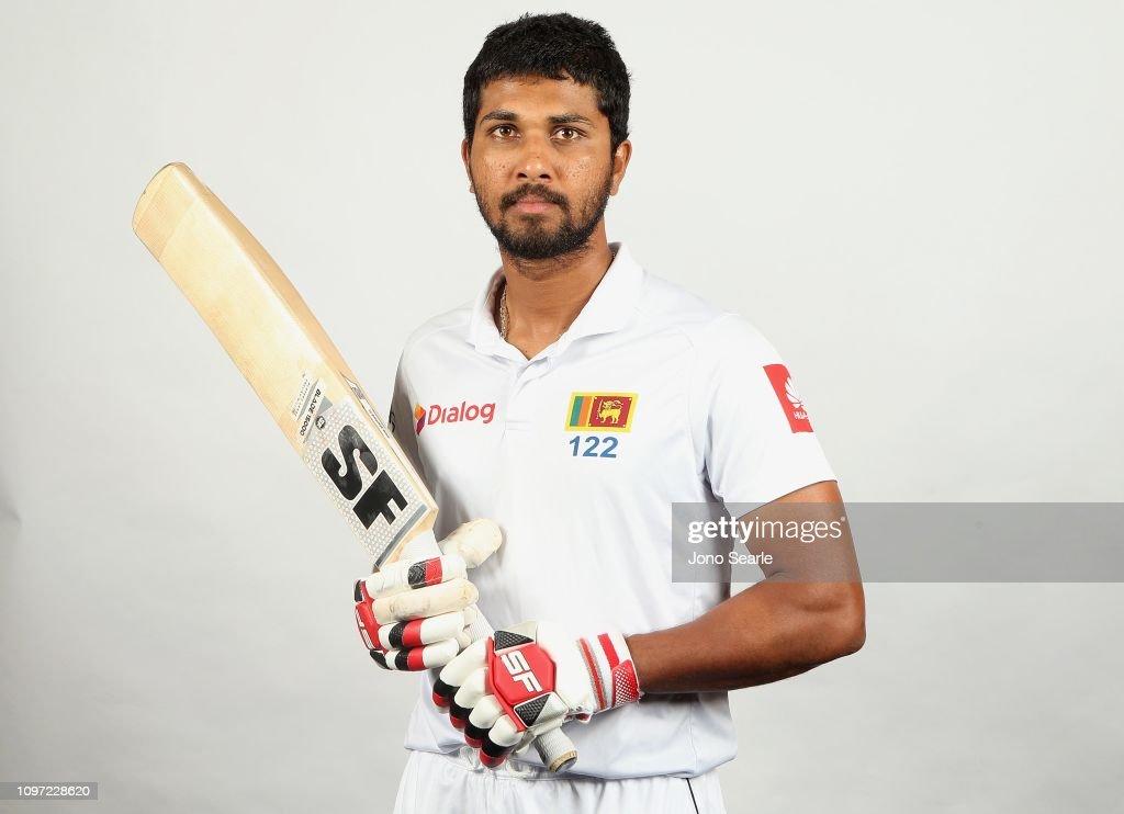 Sri Lanka Test Squad Headshots Session : News Photo