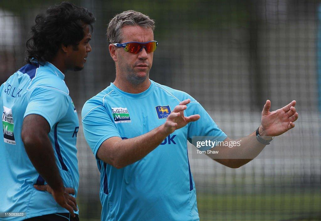 England And Sri Lanka Nets