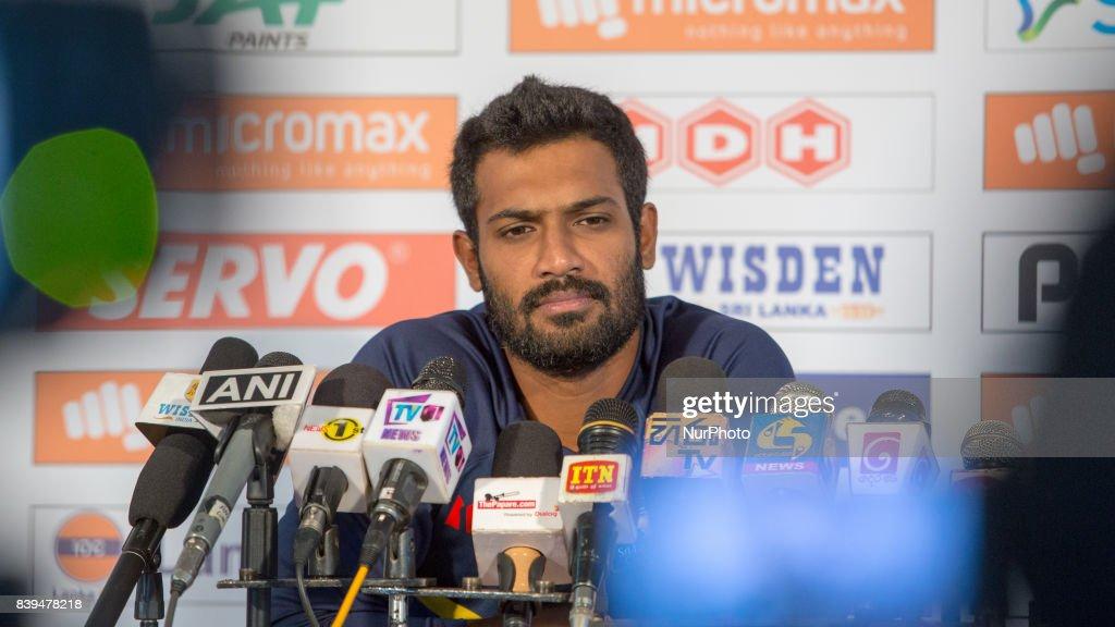 Sri Lanka v India - 3nd ODI cricket