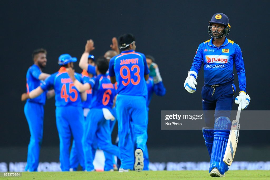 Sri Lanka v India - 2nd ODI cricket match