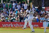 sri lankan cricketer angelo mathews plays