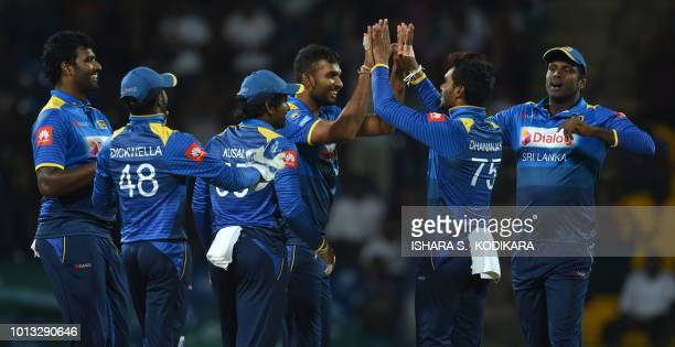 Sri Lanka Cricket Team Stock Photos And Pictures