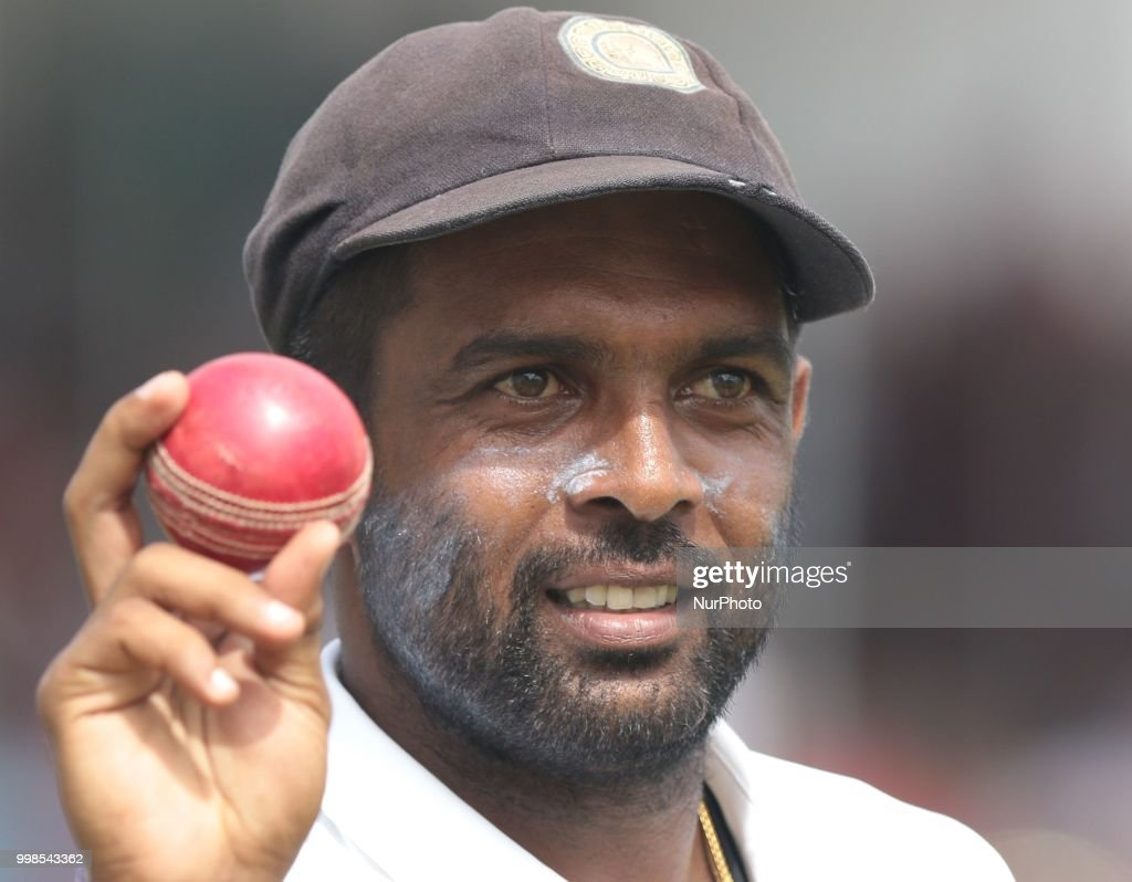 1st Test: Sri Lanka and South Africa, Day 3 : News Photo