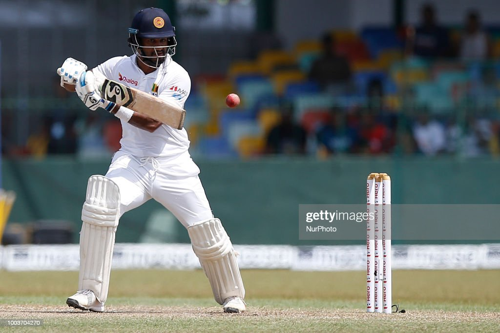 Sri Lanka v South Africa - 3rd Day, 2nd Test : News Photo
