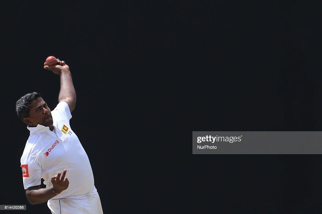 Sri Lanka v Zimabwe 1st Test match - 1st Day : News Photo