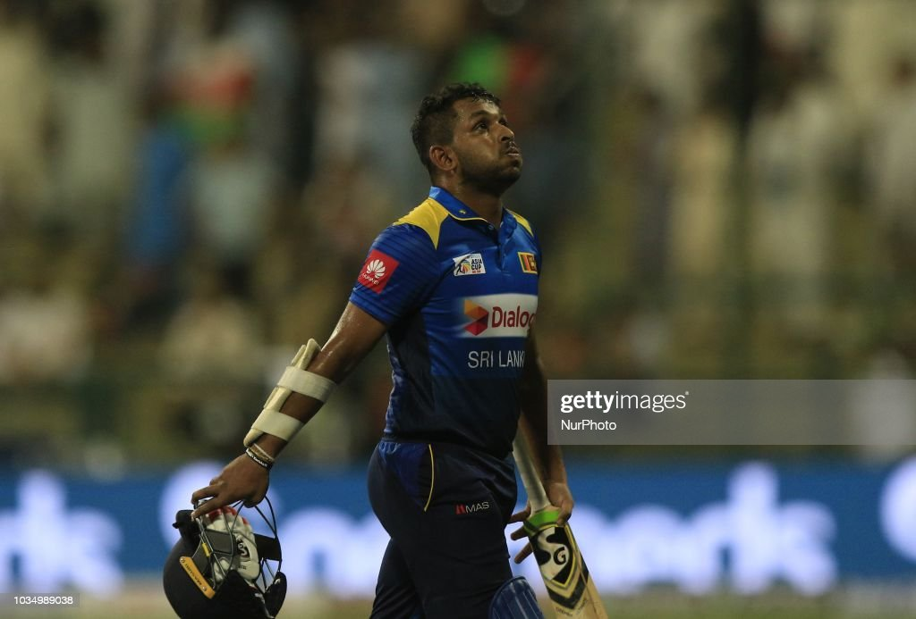 Sri Lanka v Afghanistan - Asia Cup 2018 : News Photo
