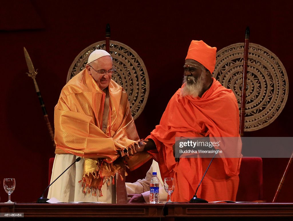 Pope Francis Visits Sri Lanka - Day 1 : News Photo