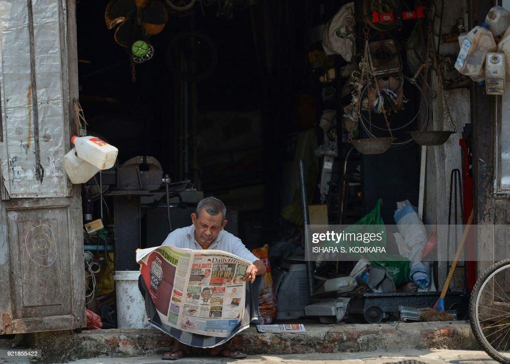 SRI LANKA-SOCIETY-MEDIA : News Photo