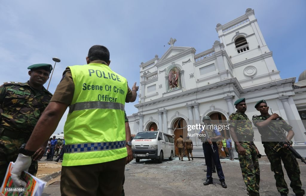 LKA: Multiple Bomb Blasts On Easter Sunday In Sri Lanka