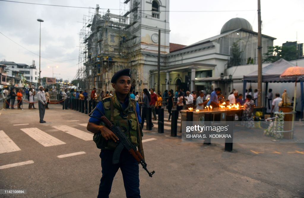 SRILANKA-ATTACKS-RELIGION-CHURCH : News Photo