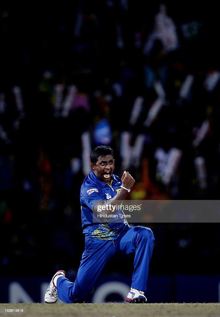 West Indies v Sri Lanka - ICC World Twenty20 2012 Final : News Photo