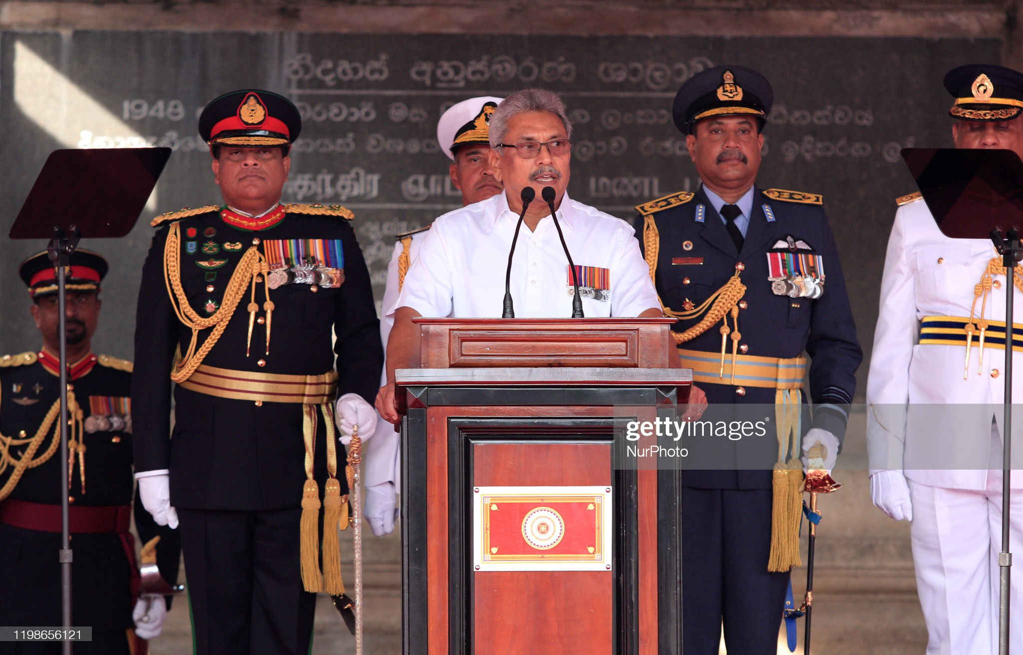 72nd Independence Day Celebrations In Sri Lanka : News Photo