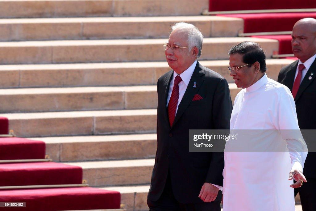 Malaysian Prime Minister Najib Razak's visit to Sri Lanka