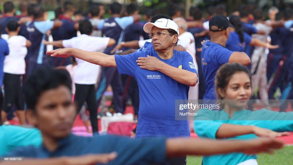 International Yoga Day In Colombo