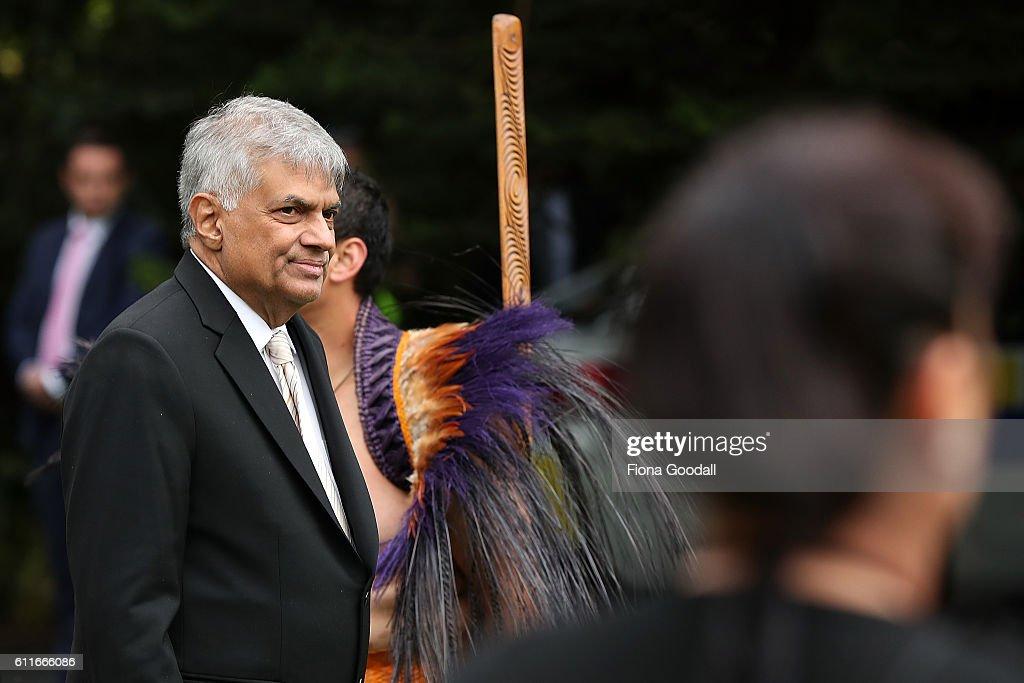 Welcome Ceremony For Sri Lankan Prime Minister